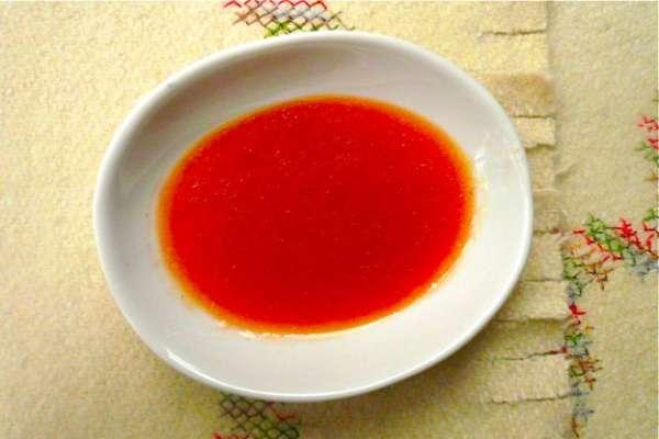 κουλί ντομάτας - coulis - φρέσκια σάλτσα ντομάτας
