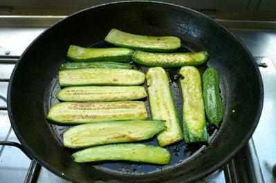 λαζάνια από κολοκύθια με γέμιση λαχανικών