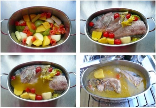 ψαρόσουπα σπιτική - συνταγή με ροφό