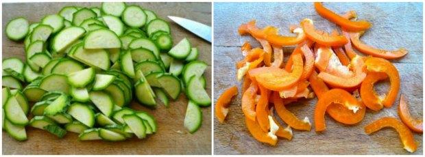 γεμιστές πιπεριές - λαχανικά