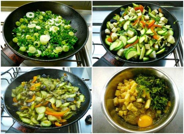 Γεμιστές πιπεριές με τυριά και λαχανικά