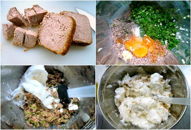 Ετοιμάζοντας κρέας σουφλέ: υλικά και μαρέγκα