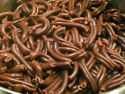 στριφτάρια με σοκολάτα