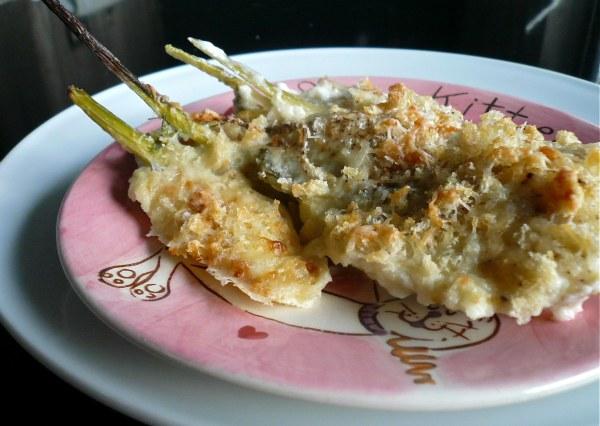 μαραθόριζα (φινόκιο) γκρατέν στο φούρνο με πικάντικη γραβιέρα