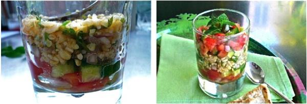 ταμπούλε σαλάτα με πληγούρι