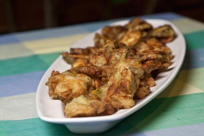 τηγανητά κολοκυθάκια - κολοκυθάκια συνταγές