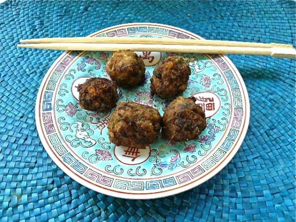 Κινέζικα κεφτεδάκια τηγανητά της Έτνας