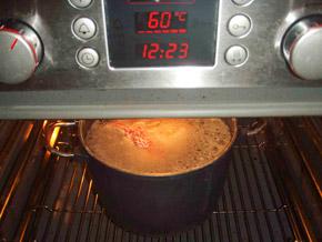 σπιτικό χαμ ή ζαμπόν βραστό - Στο φούρνο την 9η μέρα