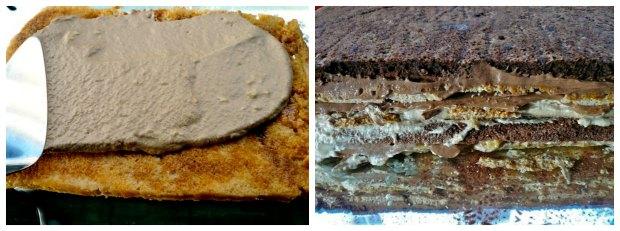 12 στρώσεις τούρτα μόκα σοκολάτα