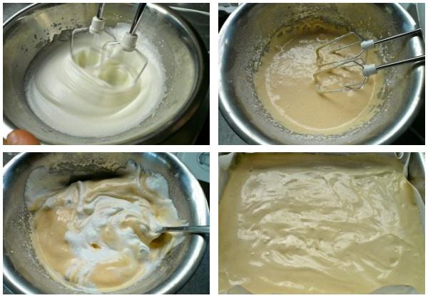 12 στρώσεις τούρτα μόκα σοκολάτα: pandespani 1