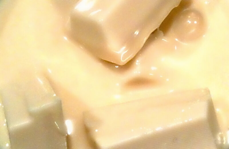 άσπρη σοκολάτα σε fudge με oreo