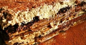τούρτα μόκα σοκολάτα