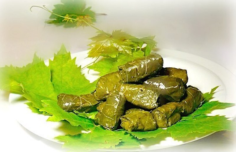 Best extra small Greek dolmades stuffed with rice and herbs