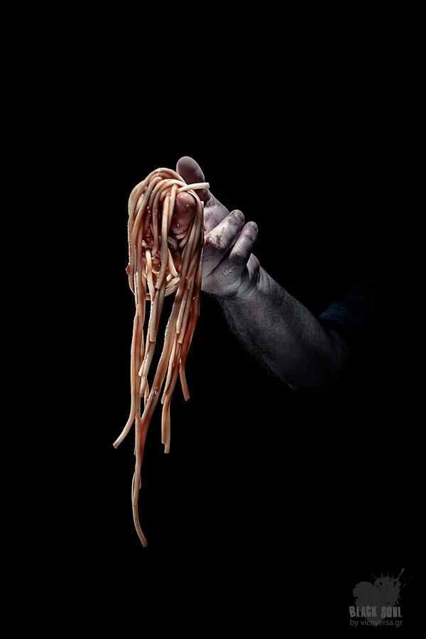 Black Soul Project: Greekadman - spaghetti