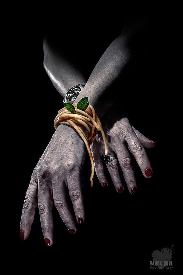 Black Soul Project: Pandespani - spaghetti bracelet