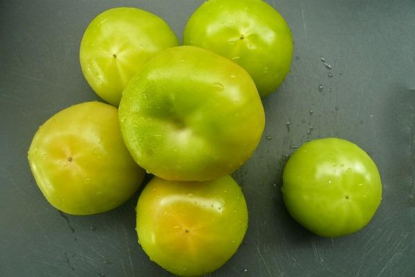 μαρμελάδα πράσινης ντομάτας