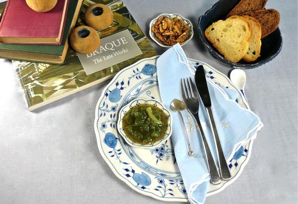 Μαρμελάδα πράσινης ντομάτας με ουίσκι