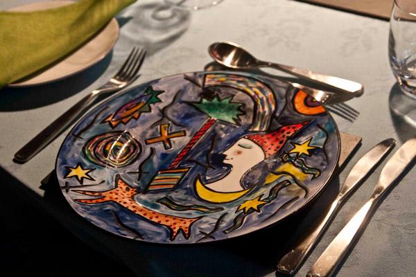 χειροποίητο πιάτο για το αρνάκι Ουαλίας