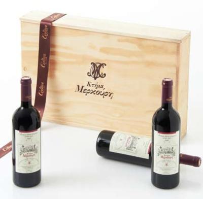 Ktima Merkouri, red wine