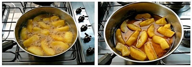 μηλόπιτα ανοιχτή βήμα βήμα: μαγείρεμα μήλων
