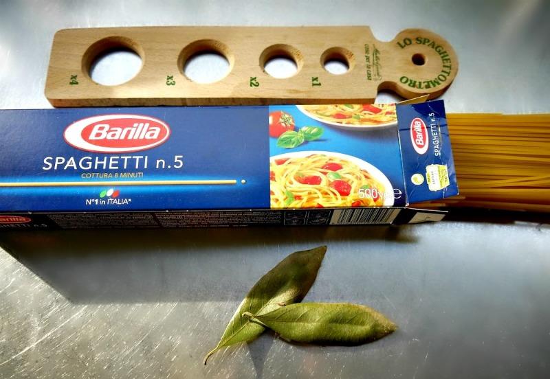 σπαγγέτι με φύλλα δάφνης -barilla-spaghettino5