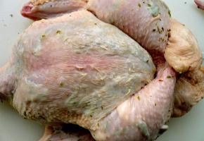 μίνι κοτόπουλα ψητά με αρωματικά