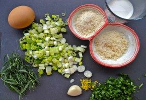 γαλέτες κοτόπουλο με εστραγκόν