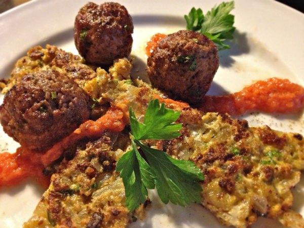 κεφτέδες σουρβάν: κουζίνα της Β. Θράκης