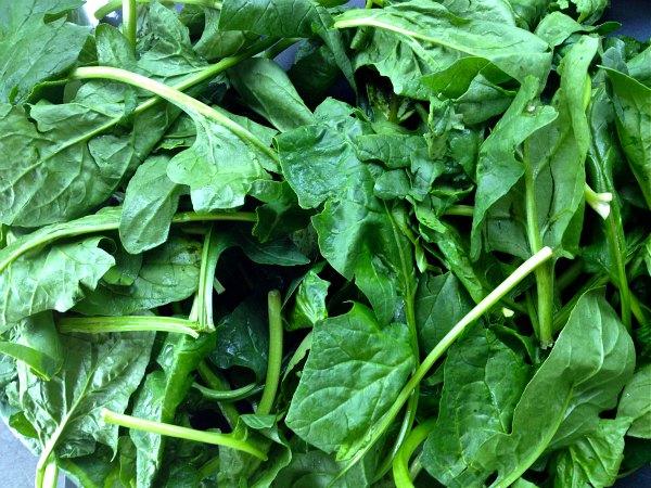 σούπερ λαχανικά: σπανάκι