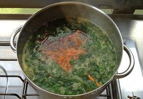 τουρκική σούπα με σπανάκι