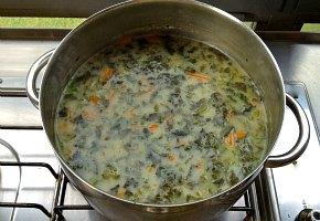 turkiki soupa me spanaki