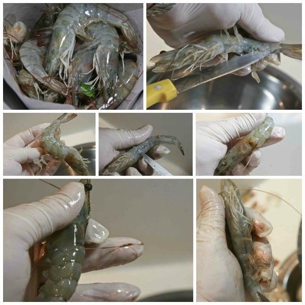 γαρίδες σαγανάκι πικάντικες αλα pandespani -πως καθαρίζονται οι γαρίδες