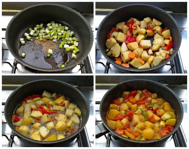 vegan κατσαρόλα με λαχανικά