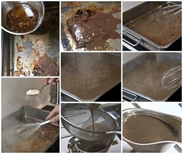 χήνα γεμιστή - το gravy