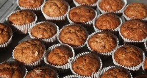 αλμυρά muffins με μανιτάρια πορτσίνι