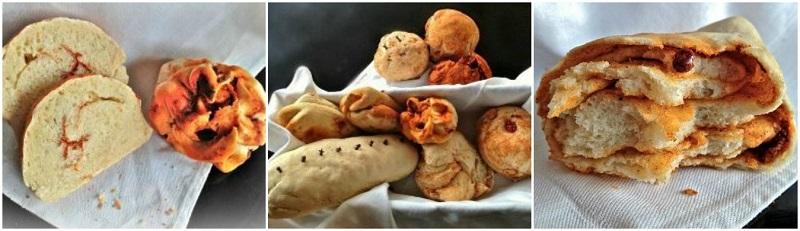 αρωματικά σπιτικά ψωμάκια με τα όλα τους