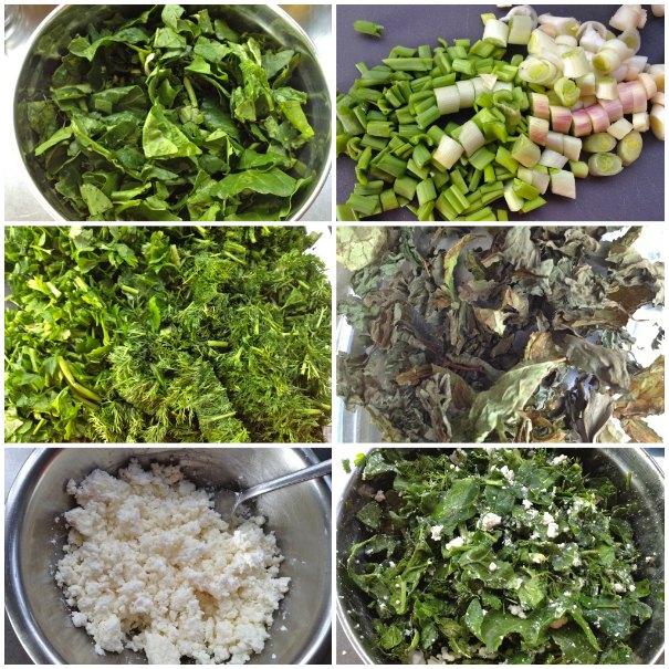 ελληνική αγροτική χορτόπιτα - σπιτική σπανακόπιτα βήμα βήμα