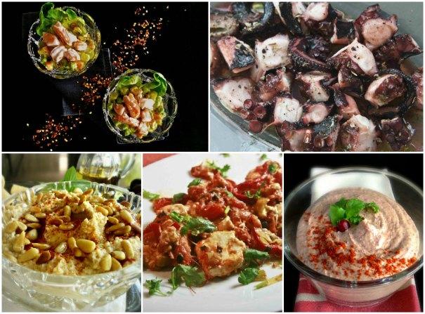Καθαρά Δευτέρα μενού: πιάτα για το καρό τραπεζομάντηλο - μενού Καθαρής Δευτέρας 2013