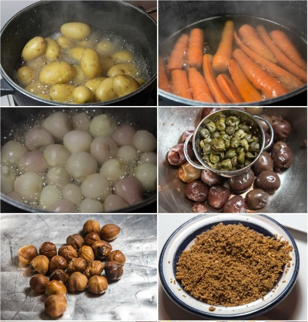 σιγομαγειρεμένη ελιά μοσχαριού - μπρεζέ Αρλεζιέν