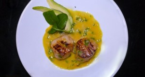 scallops with orange juice