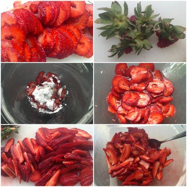 τιραμιφρεζιέ - τιραμισού με φράουλες