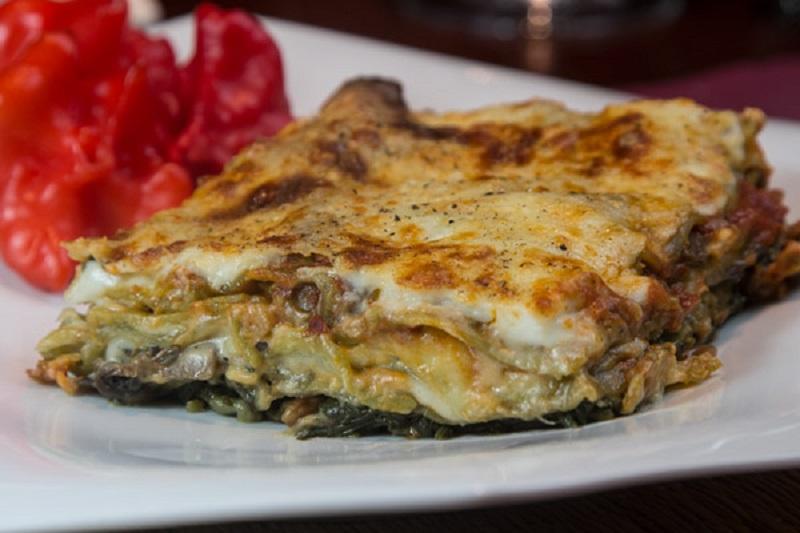 Top 20 συνταγές για μανιτάρια - λαζάνια βετζετέριαν