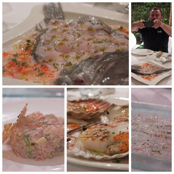 Milos reastaurant appetizers Koskinas, vasilis kallidis