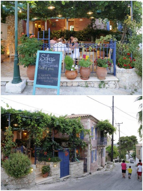 dionas, Sofia's restaurant, Ano Volimes