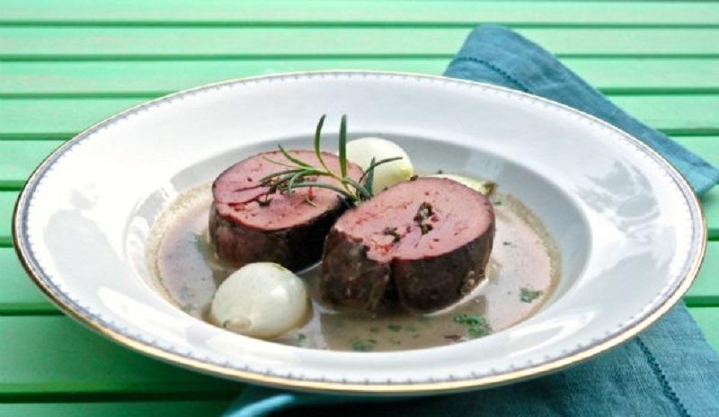 11 must πιάτα με κρέας από την γαλλική κουζίνα - συκώτι ρολό γεμιστό