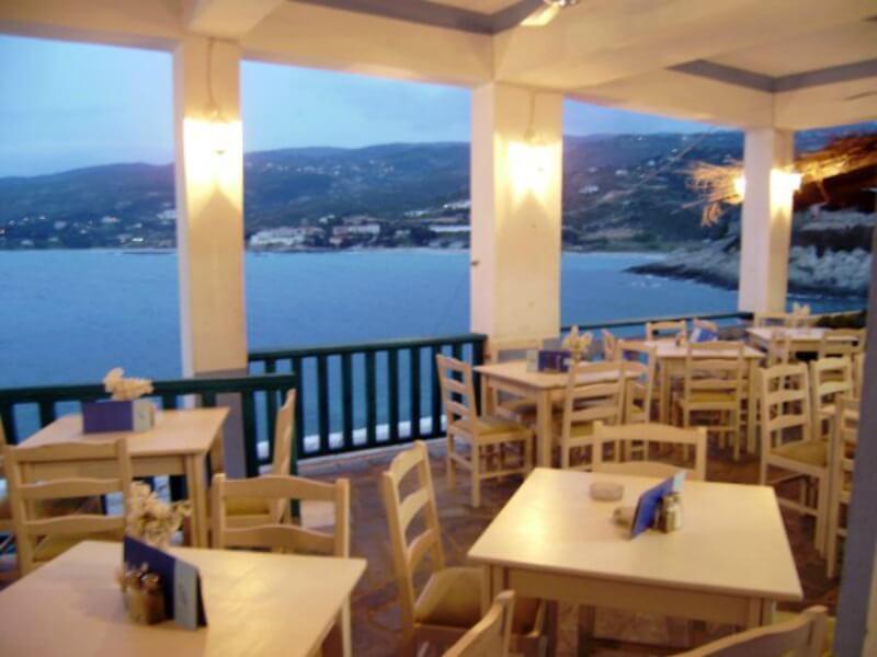 εστιατόριο Zeukin στην Ικαρία
