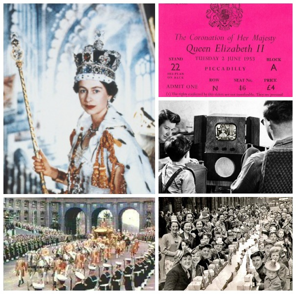 Queen Elizabeth coronation in 1953