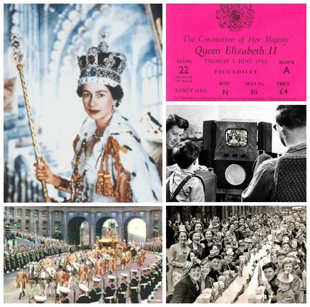 Queen Elizabeth coronation in 1953