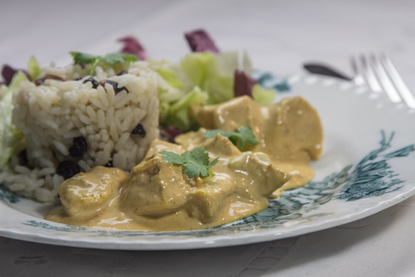 Coronation chicken - a family recipe from 1953