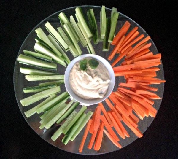 μενού με φρούτα Σεπτεμβρίου - λαχανικά με αρωματικό κατίκι